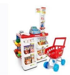 Kinderplay Supermarket czerwony