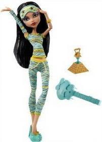 Mattel Monster High Piżama Party CLEO DE NILE V7974