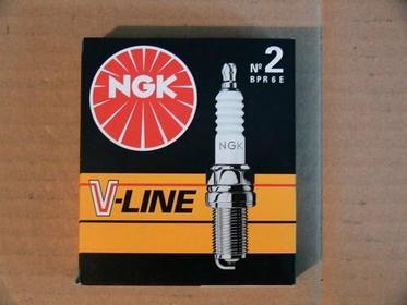 NGK V-LINE 2 Świeca zapłonowa BPR6E