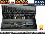 Bass Polska gwintownik I NARZYNKI ZESTAW 32szt M3-M12