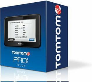 TomTom Go 7100 Truck Polska