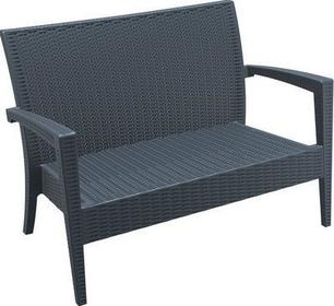 Siesta DESIGN FURNITURE Sofa ogrodowa rattan Miami szara