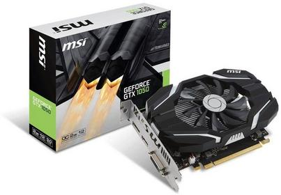MSI GeForce GTX 1050 2G OC