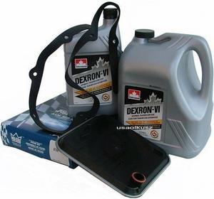 Petro-Canada Filtr oraz olej Dextron-VI automatycznej skrzyni biegów Chrysler Ne
