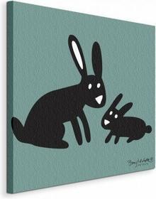 Rabbits - Obraz na płótnie