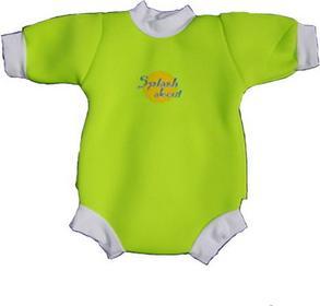 Splash About Neoprenowy mini-kombinezon pływacki Baby Snug - limonkowy