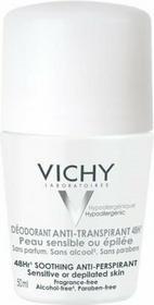 Vichy Deodorant Anti-Transpirant 48h -  do skóry wrażliwej roll-on 50ml