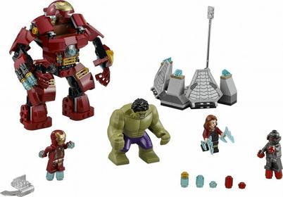 LEGO Super Heroes - Marvel Avengers 2 Hulk Buster Atakuje 76031