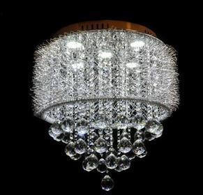 Lumina-Deco Lampa sufitowa Z KRYSZTAŁAMI LDC 2198-400