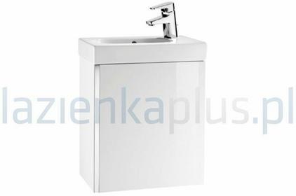 Roca Unik Mini Zestaw łazienkowy 45 cm z drzwiami biały połysk A855873806