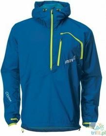 Inov-8 kurtka przeciwdeszczowa race elite 150 stormshell niebiesko-limonkowa