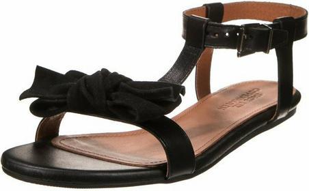 Shoebiz sandały czarny 0545