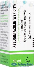 Xylometazolin WZF 0,1%, krople do nosa, 10ml