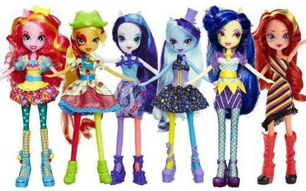Hasbro A8841 MY LITTLE PONY EQUESTRIA GIRLS MODNA LALKA