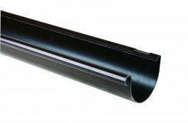 Scala Plastics Rynna G125 brązowa 4 m