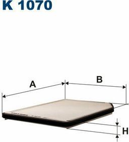 FILTRON K 1070 Filtr Kabinowy
