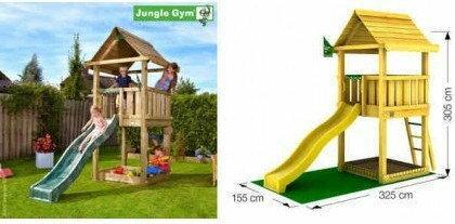 Jungle Gym Plac Zabaw HOUSE