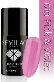 Semilac Lakier hybrydowy 010 Pink & Violet