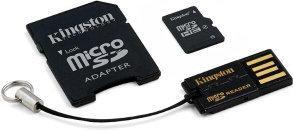 Kingston Micro SD Class 10 + czytnik 16GB