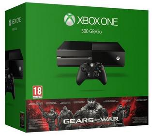 Microsoft Xbox One 500GB + Gears of War (Ultimate Edition)