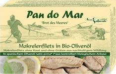 Filety z makreli w oliwie z oliwek 120g BIO - Pan Do Mar