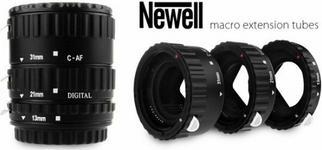 Newell Pierścienie pośrednie z automatyką do Canon EOS plastik