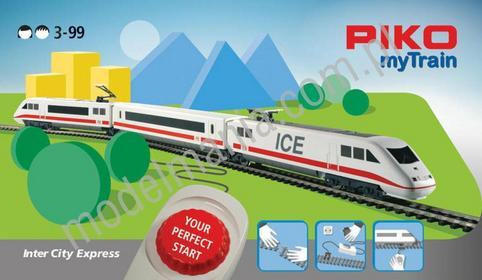 Piko Zestaw startowy myTrainR z pociągiem ICE 57094