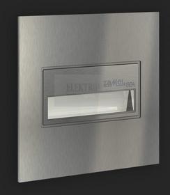Zamel Cet Lighting Sp. z o. o. Ledix Oprawka schodowa LED SONA PT 14V DC Stal /