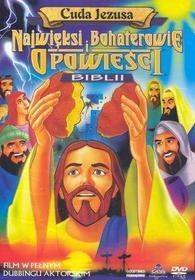 Cass Film Najwięksi bohaterowie i opowieści Biblii: Cuda Jezusa DVD (Biblia dl