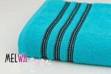 Ręcznik kąpielowy jednobarwny MODENA bawełniany 50x90 cm (modena m nieb)