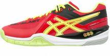 Asics GELBLAST 6 Buty do piłki ręcznej chinese red/flash yellow/black E413Y