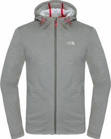 The North Face M Mittellegi Fz Hoodie Grey XL