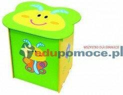 Lolo - stolik z szafką za zabawki