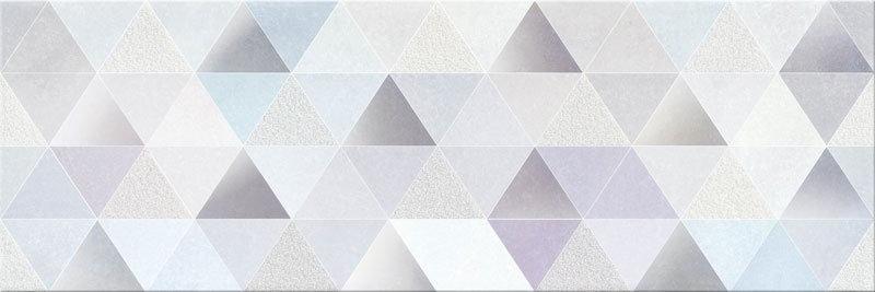 Opoczno Geometric Game Dekor 25x75 Biały Geo Poler