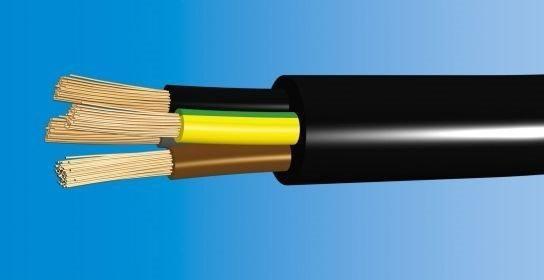 Telefonika Kable Przewód w gumie (OPD) OnPd 4x16 450/750V H07RN-F OLEJOODPORNY