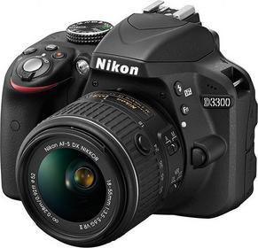 Nikon D3300 + 18-55 VR + 55-200 VR kit