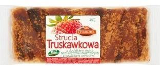 Oskroba Strucla truskawkowa 450 g