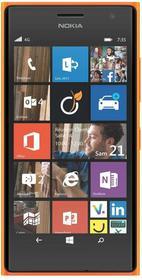 Nokia Lumia 735 Pomarańczowy