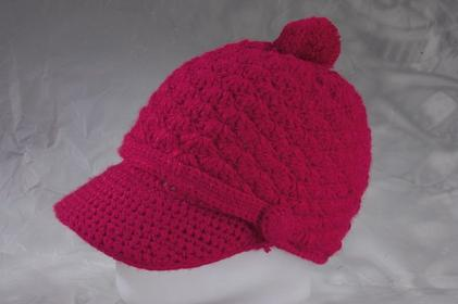 Nugget uni czapka zimowa Nina 10th A Patrol red