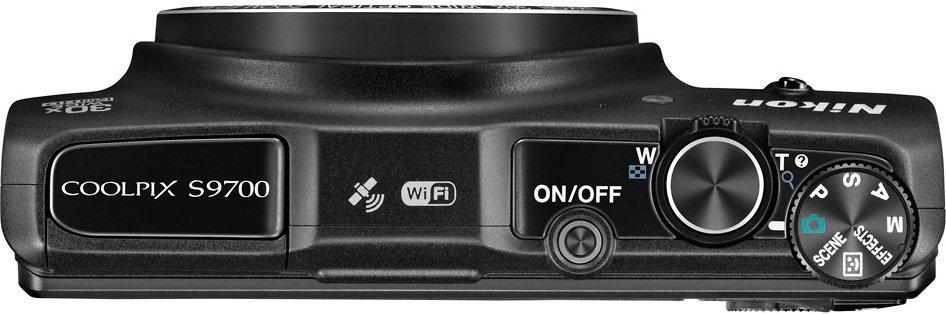 Nikon Coolpix S9700 czarny