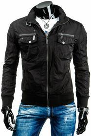 czarna kurtka przejściowa (tx0862)