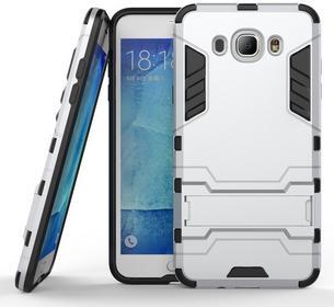 Samsung Srebrne Etui Combo Hybrid Stand Case Galaxy J7 2016