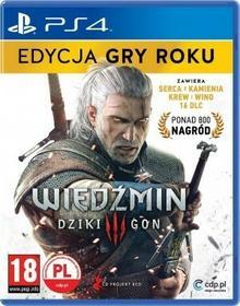 Wiedźmin 3 Dziki Gon GOTY PL PS4