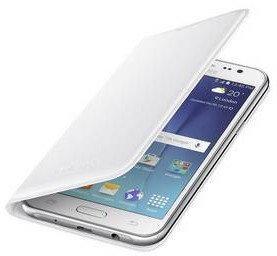 Pokrowiec  Samsung dla Galaxy J5 (EF-WJ500B) (EF-WJ500BWEGWW) białe