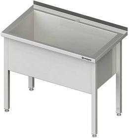Stalgast Stół z basenem jednokomorowym spawany 800x700x850 mm h=400 mm 981347080