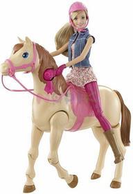 Mattel Barbie dżokejka na koniu funkcyjnym CMP27