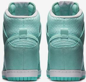Nike DUNK SKY 644877-303 miętowy