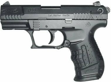 Walther Pistolet ASG P22 Spr. Zestaw