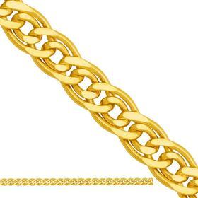 łańcuszek dmuchany typu Mona Lisa ,złoto 585/14k