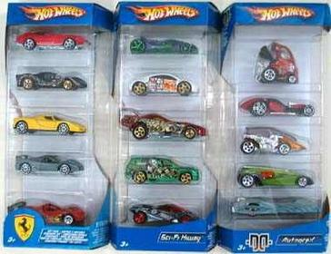Mattel Samochodziki Hot Wheels - Pięciopak 1806 Hot Wheels